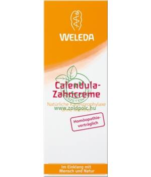 Fogkrém, Weleda (körömvirág)