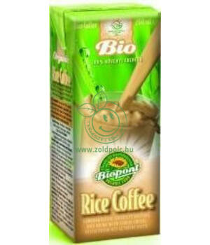 Gabonakávé rizsital bio, Biopont