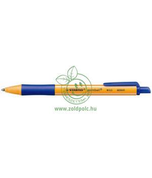 Golyóstoll nyomógombos 0,5mm, Stabilo Pointball (kék)