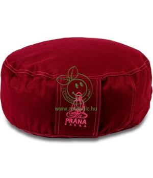 Huzat kerek meditációs párnához (bordó)