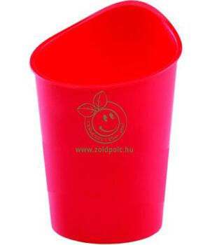 Írószertartó műanyag, Fellowes (piros)