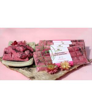 Kakaóvajas fürdőcsokoládé, Olivia (rózsakert)