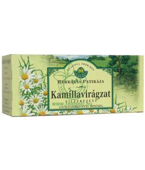 Kamilla filteres tea, Herbária