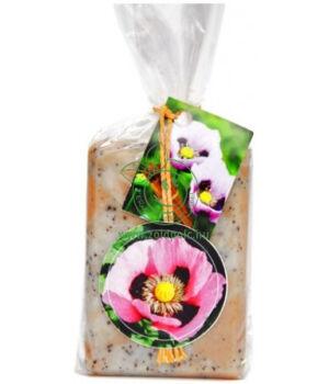 Kecsketej kézi szappan (mákos-fahéjas)