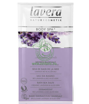 Lavera Body Spa fürdősó (levendula-aloe vera)