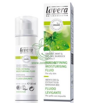 Lavera Faces mentás bőrfinomító hidratáló krém