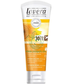 Sensitive napvédő krém SPF30, Lavera Sun