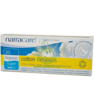 Natracare tampon (super,20db)