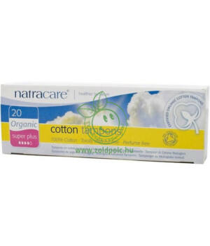 Natracare tampon (super plus,20db)