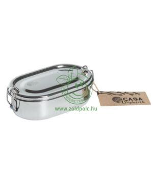 Ovális ételhordó doboz rozsdamentes acélból