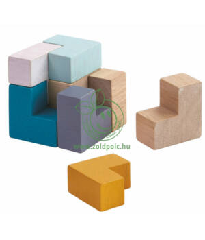 PlanMini 3D kocka puzzle, Plantoys