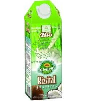 Rizsital gluténmentes bio, Biopont (kókuszos,1000ml)
