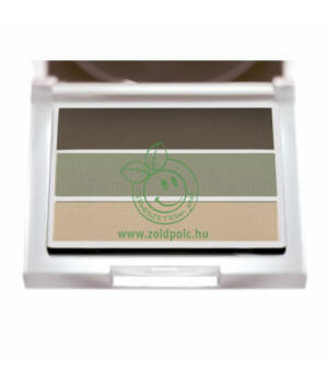 Szemhéjpúder trio Sante (natural green)