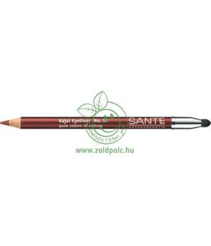 Szemkontúr ceruza Sante (curry brown)