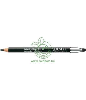 Szemkontúr ceruza Sante (deep black)
