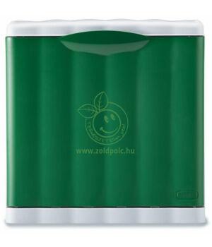 Szelektív szemetes, moduláris 20l (zöld)