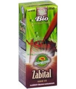 Zabital bio, Biopont (kakaó,200ml)
