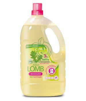 Zöldlomb folyékony mosószer 3l (Citrus)