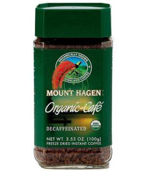 Bio kávé instant, Mount Hagen (koffeinmentes)