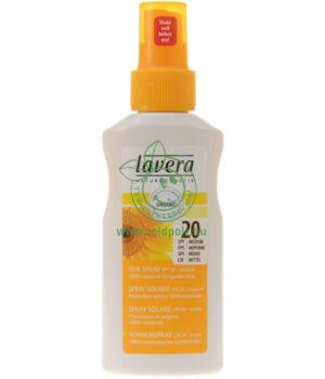 Napvédő spray F20, Lavera Sun