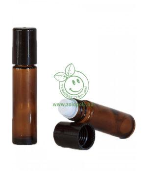 Barna golyós roll-on üveg (10ml)