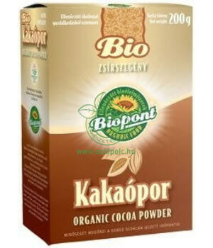 Bio kakaópor, Biopont