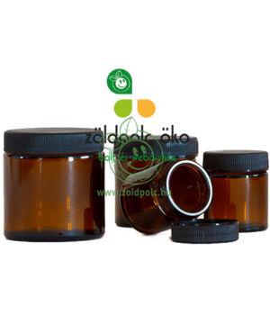 Barna üvegtégely (120ml)