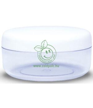 Műanyag tégely, fehér (100ml)