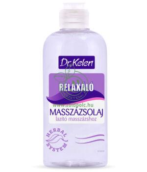 Dr. Kelen relaxáló masszázsolaj (500ml)