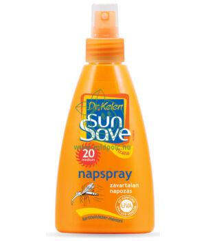 Dr. Kelen Sunsave F20 szúnyogriasztó napspray