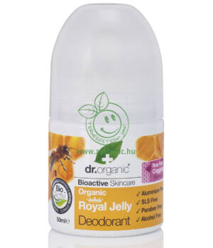 Dr. Organic dezodor (méhpempő)