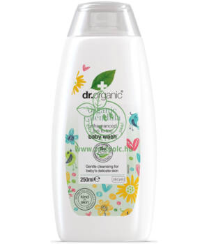 Dr. Organic babafürdető bio körömvirággal (illatmentes)