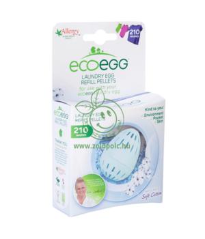 Mosógolyó utántöltő, Ecoegg (210 mosás,enyhe illat)
