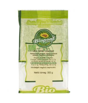 Fehér rizsliszt bio, Biopont