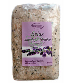 Himalája fürdősó aromaterápiás (levendula)