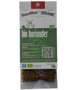 Fűszer bio, GreenMark (Koriander)