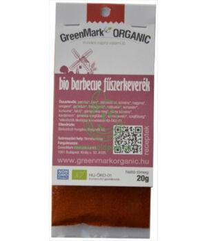 Fűszerkeverék húsokhoz bio, GreenMark (Barbecue)