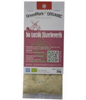 Fűszerkeverék salátához bio, GreenMark (Tzatziki)