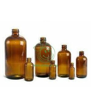 Gyógyszertári üveg, barna (100ml)