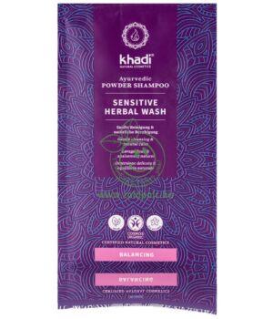 Hajpakolás, Khadi gyógynövényes (érzékeny fejbőrre)