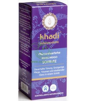 Henna hajfesték por, Khadi (kékes fekete)