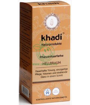Henna hajfesték por, Khadi (világosbarna)