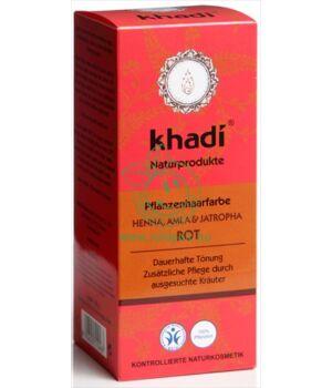 Henna hajfesték por, Khadi (vörös)