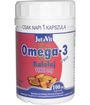 Omega-3 halolaj 30db, Jutavit