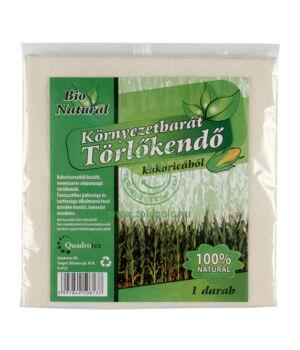 Törlőkendő kukoricából
