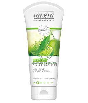 Lavera Body Spa testápoló (vasfű-lime)