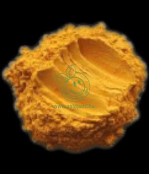 Ásványi színezék por, Mica (okkersárga)
