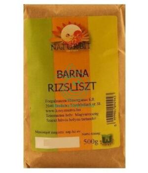 Barna rizsliszt, Naturbit
