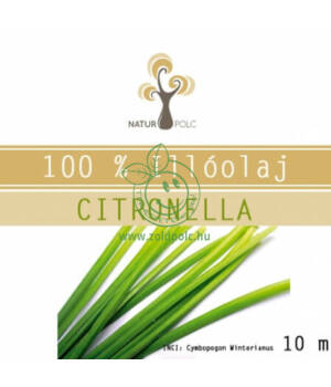 Naturpolc illóolaj 10ml (citronella)