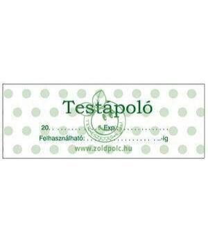 Öntapadó kozmetikai címkék 8db (testápoló)
